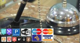 Servicios extra en el Hotel Aitana, servicio de limpieza, fax, fotocopiadora, ordenador...