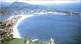 El Hotel Aitana está cerca de las playas de Hondarribia y Hendaya