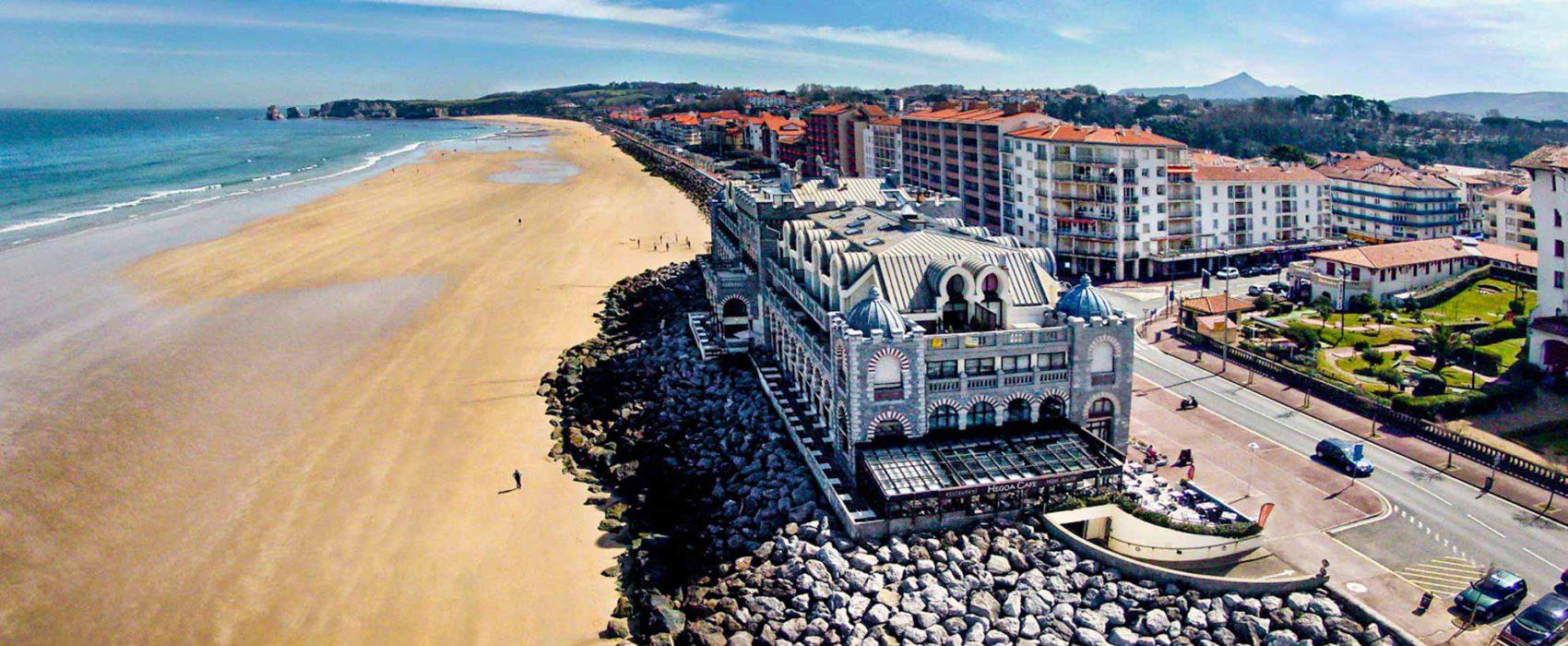 Qué hacer cerca de Irún Playa de Hendaya muy cerca del Hotel Aitana en Irún